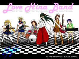 Love Hina band by Mz340