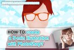 How to draw in 5 min with PHOTOSHOP by NicoleHerskowicz