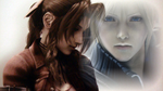 Final Fantasy Aeries and Cloud by smonsels