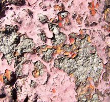 old paint on concret by AletheiaFelinea