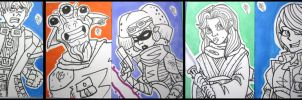 FREE Sketch Cards - 2 by JoeHoganArt