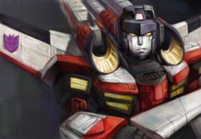 transformers armada starscream by darkvirusRE