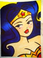 Wonder Woman by ChibiCelina