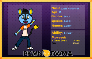 Pokemon DWMA App- Lucas by Yoshinx