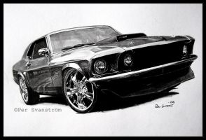 Ford Mustang HT -69 by Per-Svanstrom