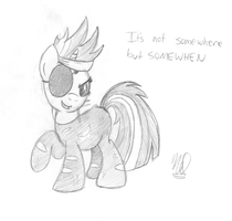 Future Badass by drawponies