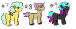 Cheap Pony Adopts 3 (OPEN!!!) by Lost---Girl
