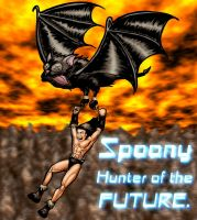 Spoony Hunter of the future by misterprickly