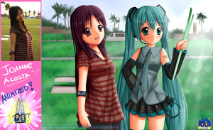 Animized: Joanne n Miku REF! by RJAce1014