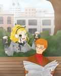 The Escapees get Coffee - Redo by ShadOBabe