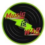 Music Is War Logo (Green) by ABluSkittle