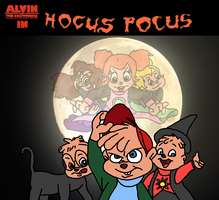 Alvin and the Chipmunks in Hocus Pocus by leduc-gallery