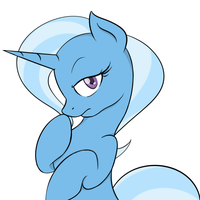 Trixie as Trixie by TheParagon