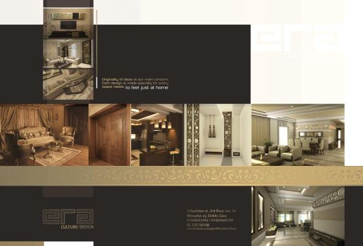 Era Culture Design Ad page 2-3 by 3ESAWY