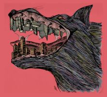 Wolf Jaw City by peach-apparatus