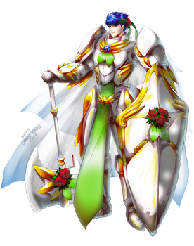 FEH Bridal Blessings 3, Ike by Sonic-Cake