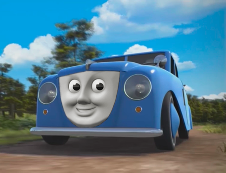 Alfred - The Fat Controller's Car. by The-ARC-Minister