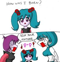 A daughters Question - COLOR by NikoH