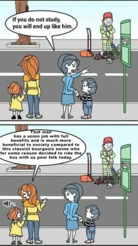 Bus stop by crizzlesbuttons
