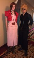 Cloud and Aerith ALA 2013 by Hinata211