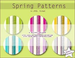 Spring Patterns by Stellas-Creations