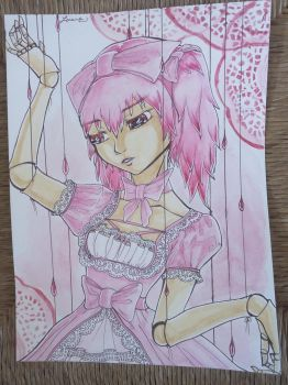 Pink doll/puppet by X-Anonyme-X