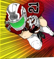 Eyeshield 21 4D Run by InaudibleWhisper
