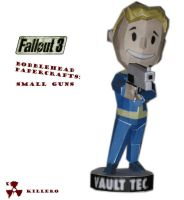 Fallout 3 Guns Bobblehead by killero94