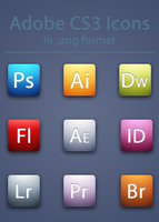 Adobe CS3 Icons by BrienOCD