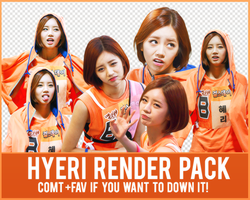 Hyeri Render Pack by Know-chan