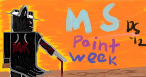 Ms paint artwork#1 by ScootsNB