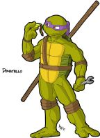 Donatello The Brain by Draktyr