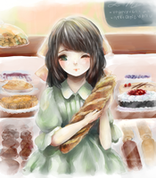Bread! Love! by chocuu