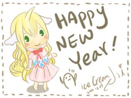 Happy New Year -- chibi Mavis by icecream80810