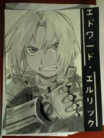 Edward Elric drawing by nomnomnomrawr95
