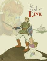 The Legend of Link by Lazulina