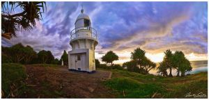 Fingal Heads lighthouse by jaydoncabe
