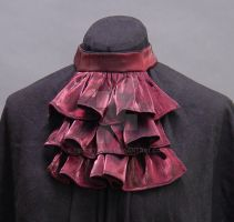 Rich Wine Jabot by FrockTarts