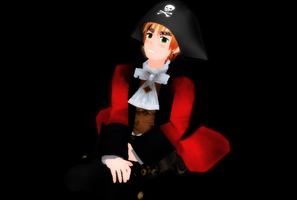 mmd pirate england by madelinemaryann