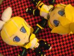 Kagamine Rin and Len Plush by Toki101sos