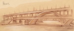 The Moscow Bridge by OmegaLioness