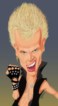 Billy Idol by toongsteno