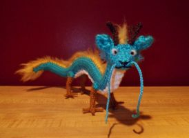 Dragon Amigurumi by SilverTwilight05
