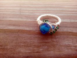 Elegant Waters Ring by WyckedDreamsDesigns
