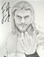So Edge Wrote On My Drawing... by Crystal-Cat
