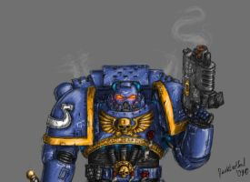 Space marine utramarine by DarkLostSoul86