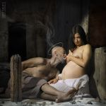 Roman Charity by sauco-m