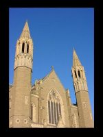 Sacred Heart Cathedral I by cdaile
