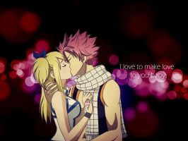 NaLu love by xrosheartflame