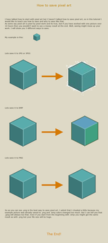 How to save pixel art by vanmall